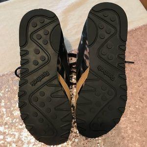 New Leopard Reebok Classic Sneakers 6.5
